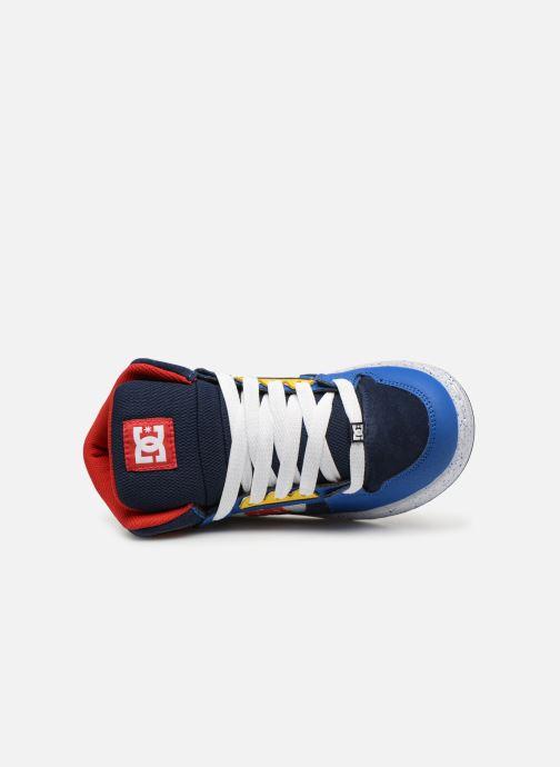 Baskets DC Shoes Pure High-Top SE Bleu vue gauche