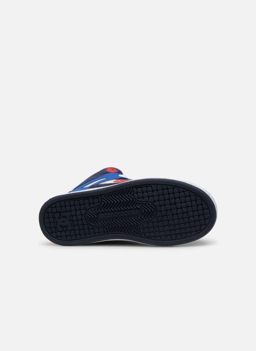 Baskets DC Shoes Pure High-Top SE Bleu vue haut