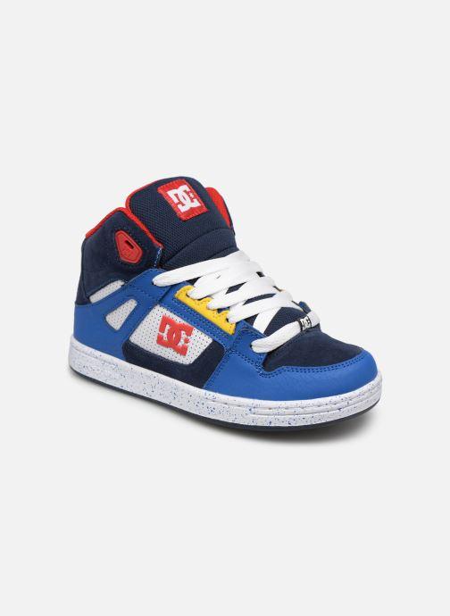 Baskets DC Shoes Pure High-Top SE Bleu vue détail/paire