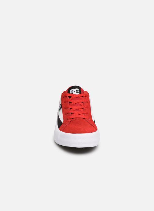 Baskets DC Shoes Lynnfield Rouge vue portées chaussures