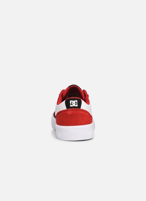 Baskets DC Shoes Lynnfield Rouge vue droite