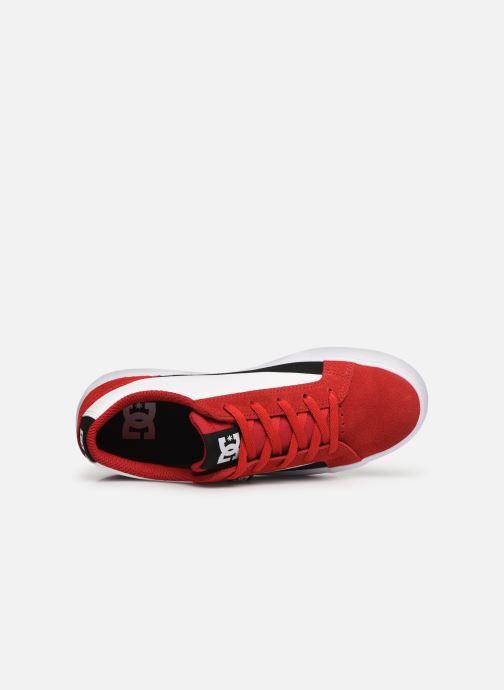 Baskets DC Shoes Lynnfield Rouge vue gauche