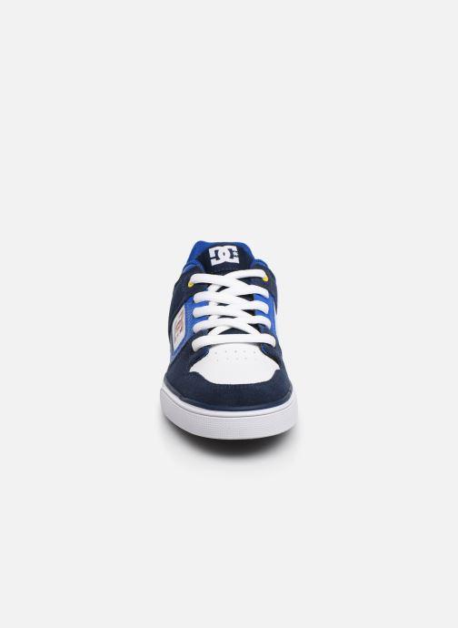 Baskets DC Shoes PURE  B Bleu vue portées chaussures