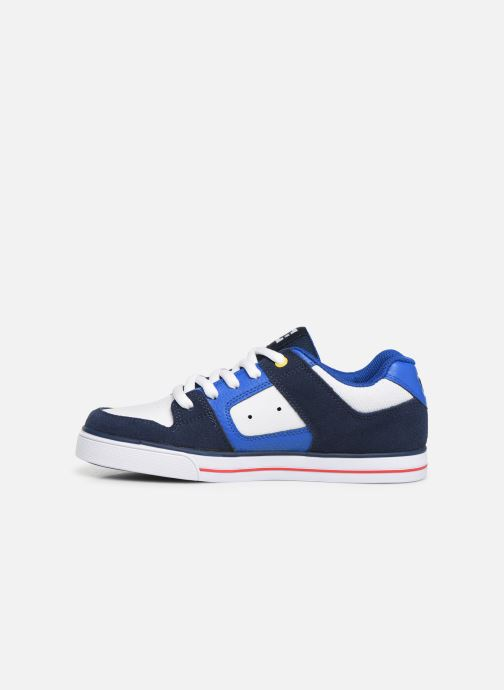 Baskets DC Shoes PURE  B Bleu vue face