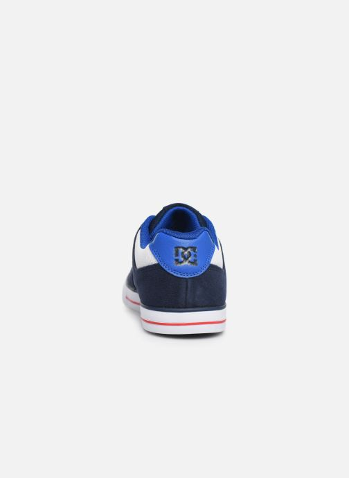 Deportivas DC Shoes PURE  B Azul vista lateral derecha