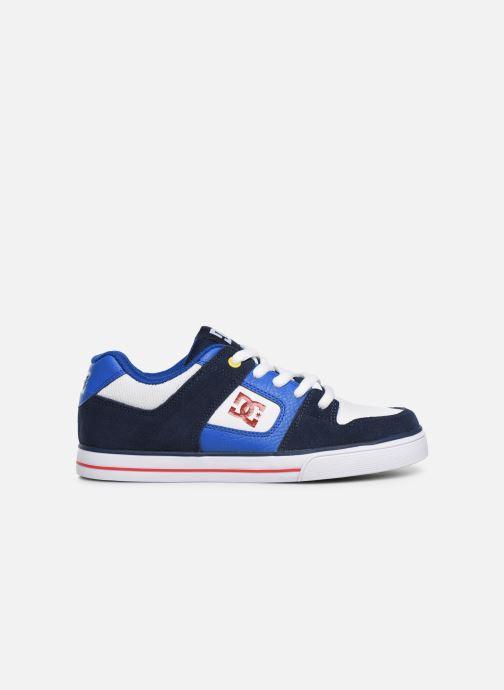 Baskets DC Shoes PURE  B Bleu vue derrière