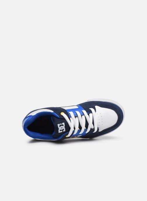 Deportivas DC Shoes PURE  B Azul vista lateral izquierda