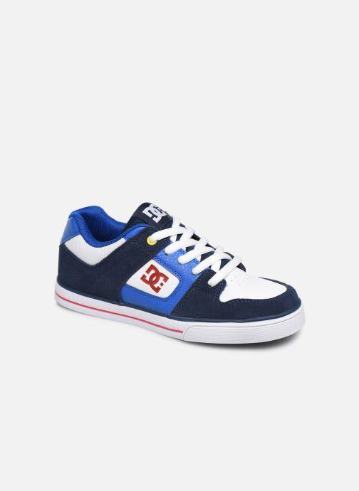 Baskets DC Shoes PURE  B Bleu vue détail/paire
