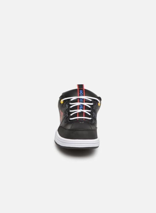 Baskets DC Shoes Syntax Noir vue portées chaussures