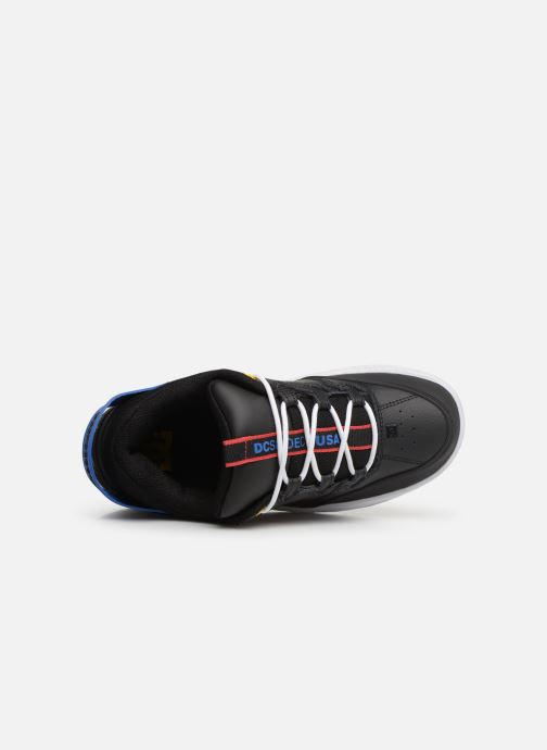 Deportivas DC Shoes Syntax Negro vista lateral izquierda