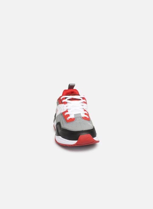Baskets DC Shoes E. Tribeka Multicolore vue portées chaussures