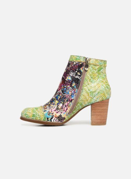 Stiefeletten & Boots Laura Vita Anna 1381 grün ansicht von vorne