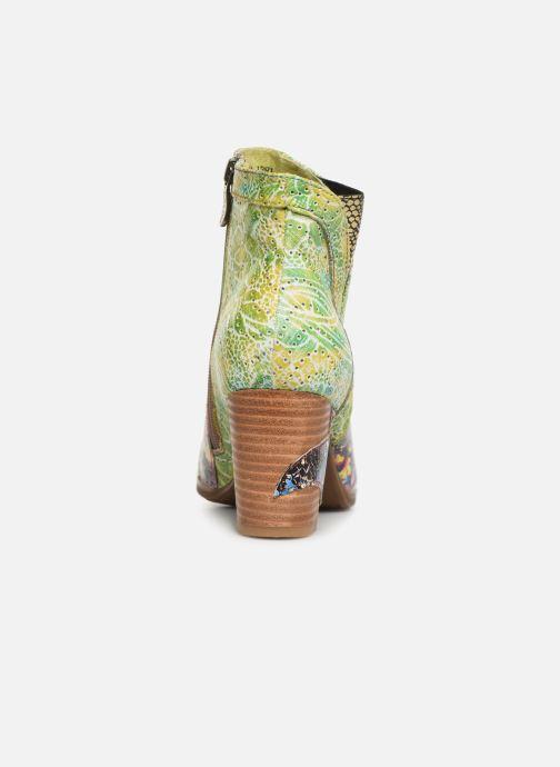 Stiefeletten & Boots Laura Vita Anna 1381 grün ansicht von rechts