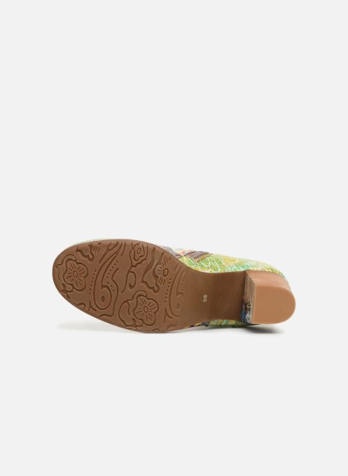 Stiefeletten & Boots Laura Vita Anna 1381 grün ansicht von oben