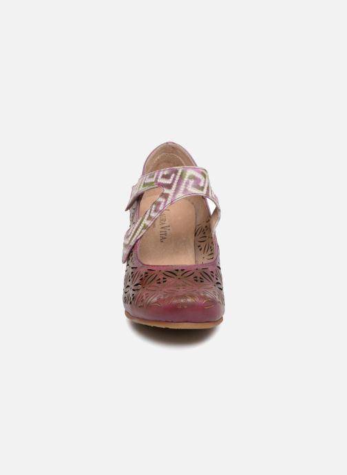 Pumps Laura Vita Candice 019 rosa schuhe getragen