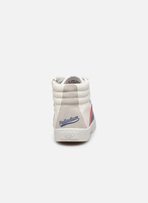 Sneakers Palladium Pallaphoenix Cuff Retro K Wit rechts