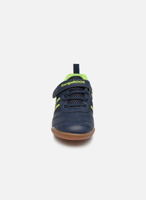 Chaussures de sport Kangaroos Court Comb EV Noir vue portées chaussures