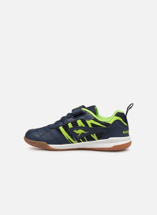 Zapatillas de deporte Kangaroos Court Comb EV Negro vista de frente