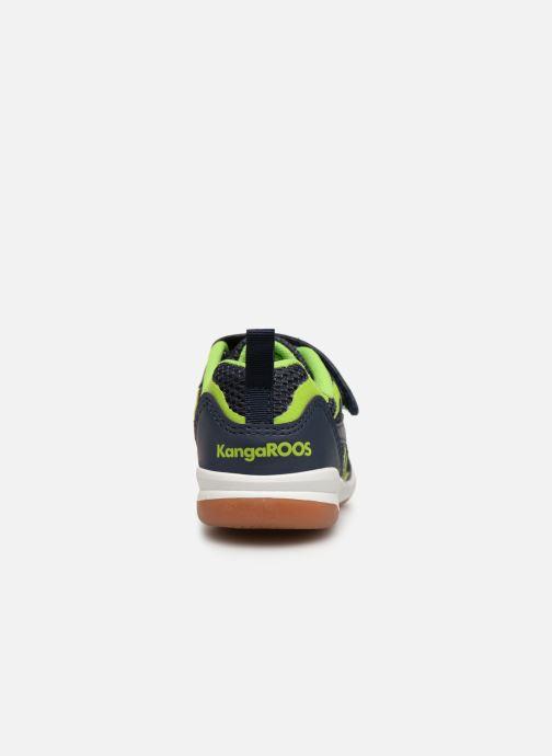 Zapatillas de deporte Kangaroos Court Comb EV Negro vista lateral derecha