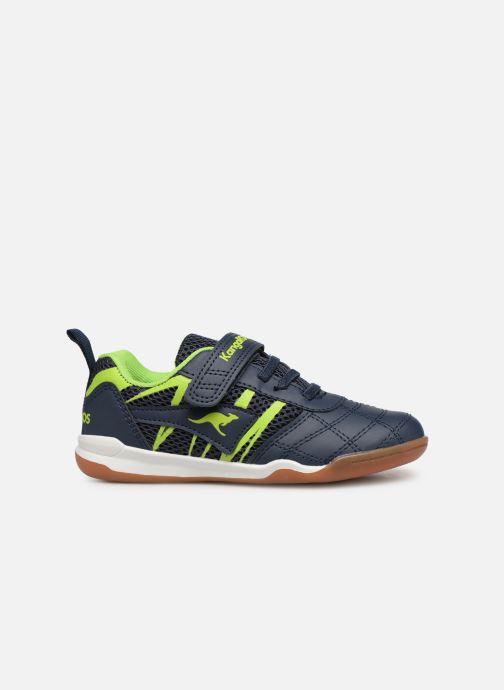 Chaussures de sport Kangaroos Court Comb EV Noir vue derrière