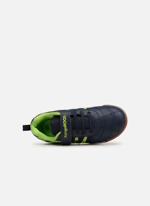 Chaussures de sport Kangaroos Court Comb EV Noir vue gauche