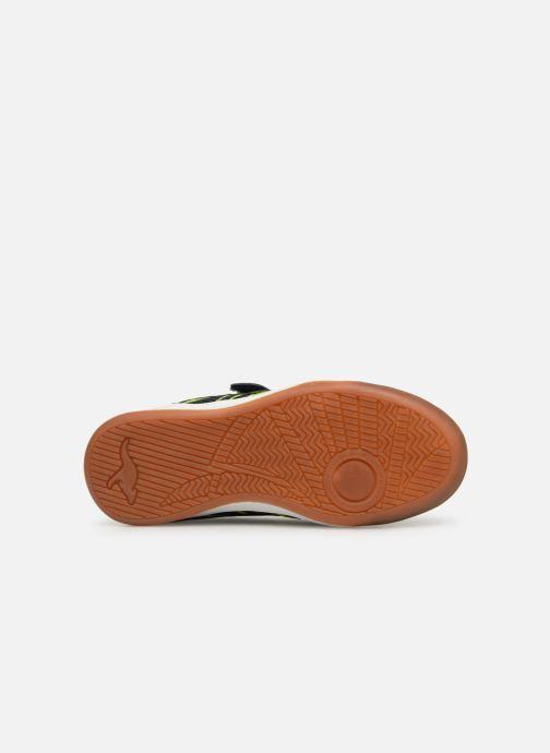 Chaussures de sport Kangaroos Court Comb EV Noir vue haut