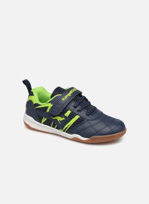 Chaussures de sport Kangaroos Court Comb EV Noir vue détail/paire