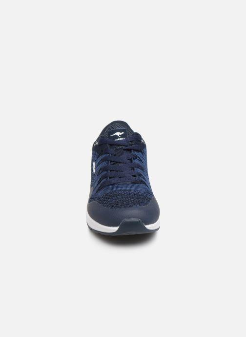 Baskets Kangaroos Kanga X 5000 Bleu vue portées chaussures