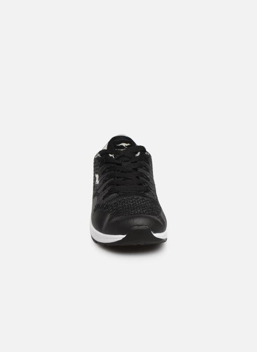 Sneaker Kangaroos Kanga X 5000 schwarz schuhe getragen