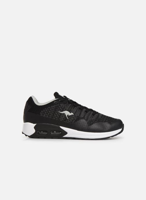 Sneaker Kangaroos Kanga X 5000 schwarz ansicht von hinten
