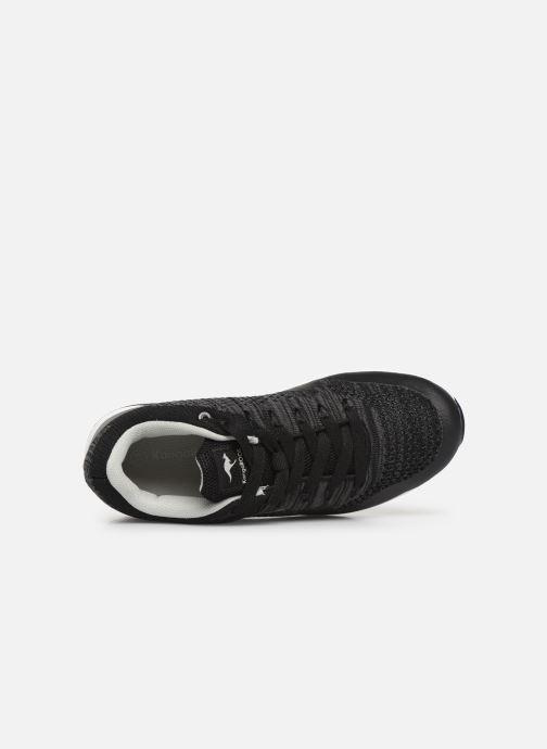 Sneaker Kangaroos Kanga X 5000 schwarz ansicht von links