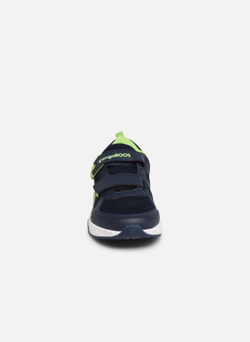Chaussures de sport Kangaroos Kadee Melt V Bleu vue portées chaussures