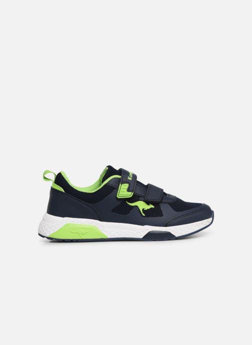 Sport shoes Kangaroos Kadee Melt V Blue back view