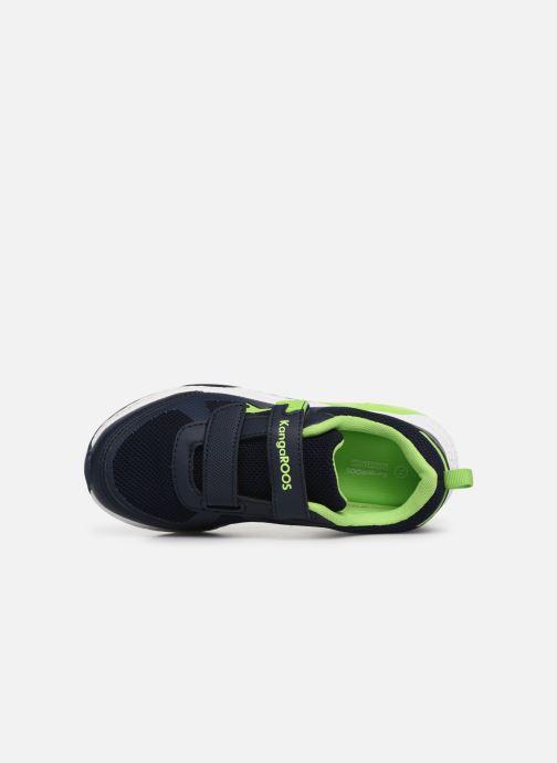 Chaussures de sport Kangaroos Kadee Melt V Bleu vue gauche