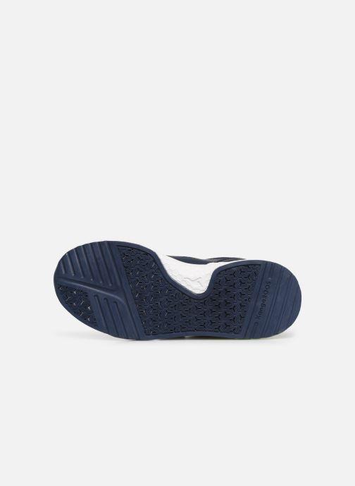 Sport shoes Kangaroos Kadee Melt V Blue view from above