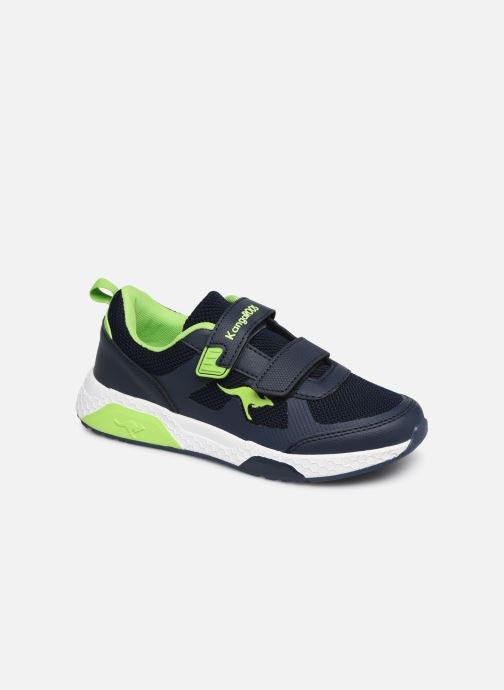 Chaussures de sport Kangaroos Kadee Melt V Bleu vue détail/paire