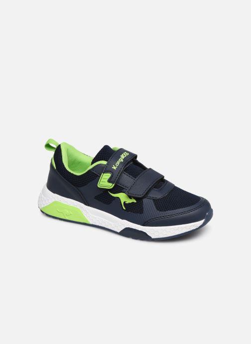 Sport shoes Kangaroos Kadee Melt V Blue detailed view/ Pair view