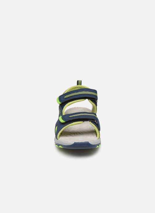 Sandals Kangaroos K-Logan Blue model view
