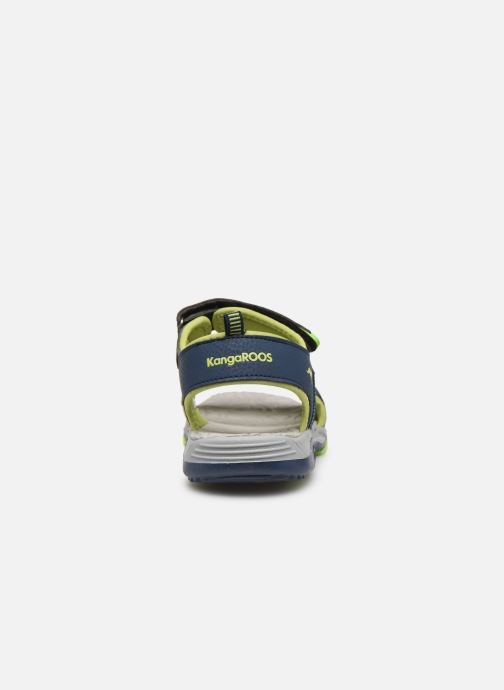 Sandals Kangaroos K-Logan Blue view from the right