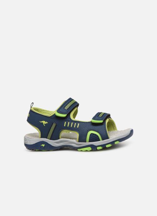 Sandals Kangaroos K-Logan Blue back view