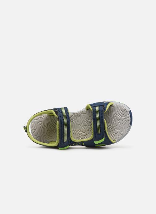 Sandales et nu-pieds Kangaroos K-Logan Bleu vue gauche