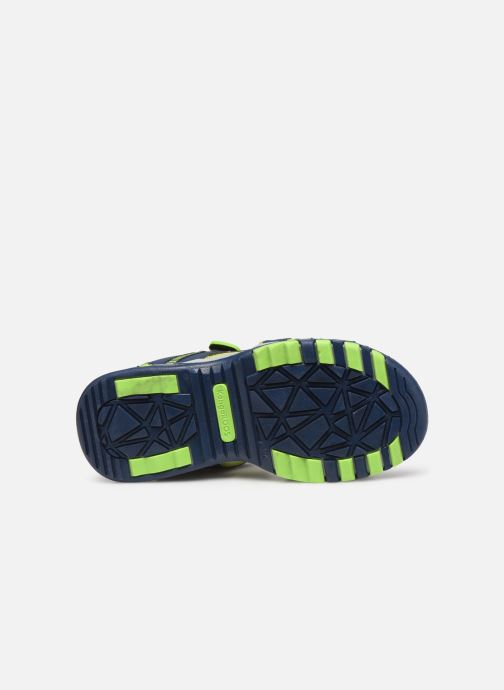 Sandales et nu-pieds Kangaroos K-Logan Bleu vue haut