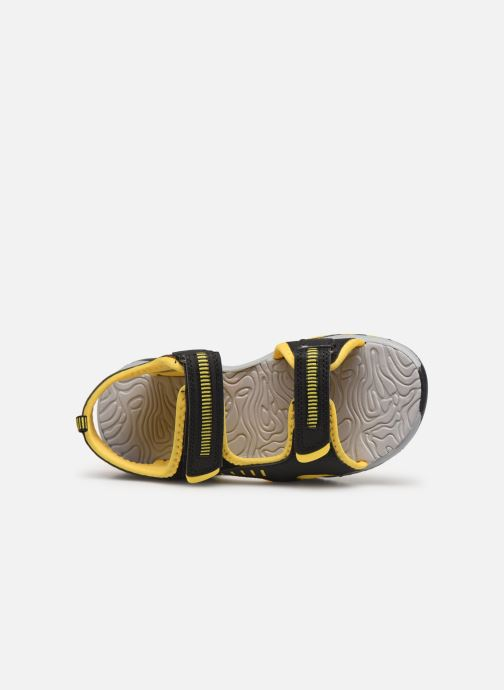Sandales et nu-pieds Kangaroos K-Logan Noir vue gauche