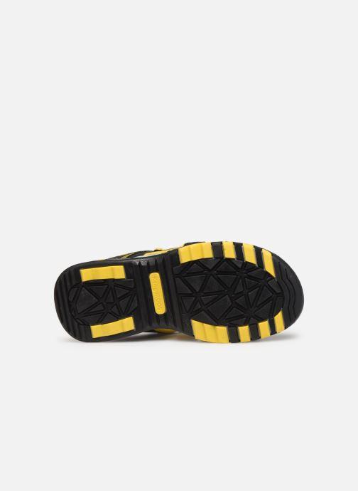Sandales et nu-pieds Kangaroos K-Logan Noir vue haut