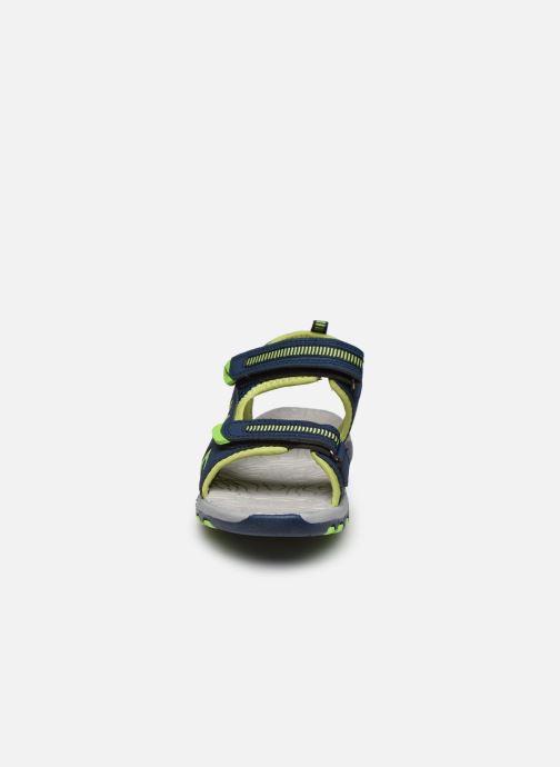 Sandales et nu-pieds Kangaroos K-Logan Bleu vue portées chaussures