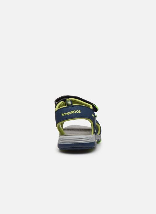 Sandales et nu-pieds Kangaroos K-Logan Bleu vue droite