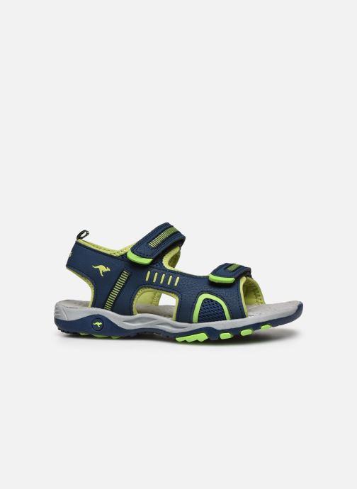 Sandales et nu-pieds Kangaroos K-Logan Bleu vue derrière