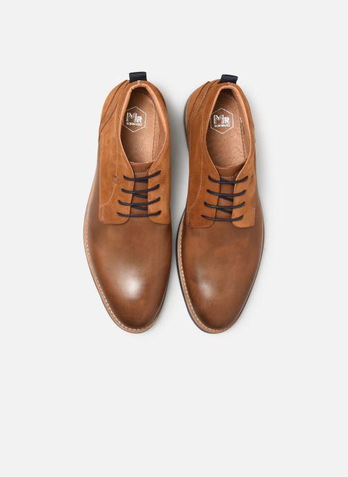 Bottines et boots Mr SARENZA Coxo Marron vue portées chaussures