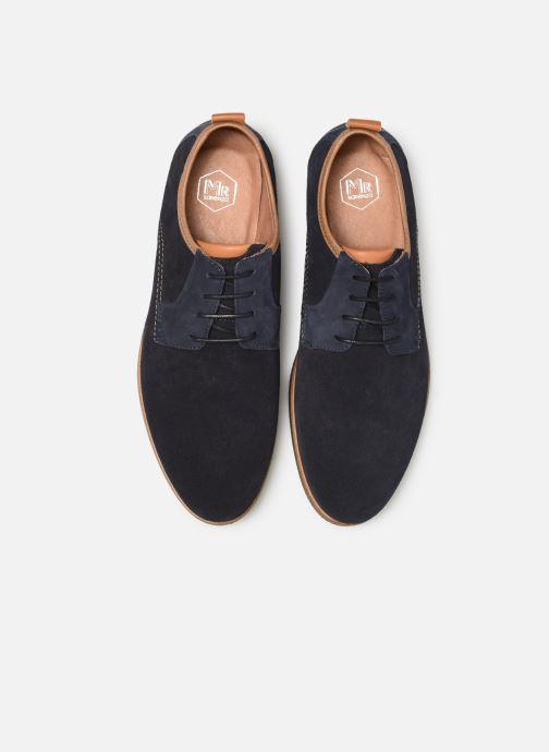Zapatos con cordones Mr SARENZA Coxila Azul vista del modelo