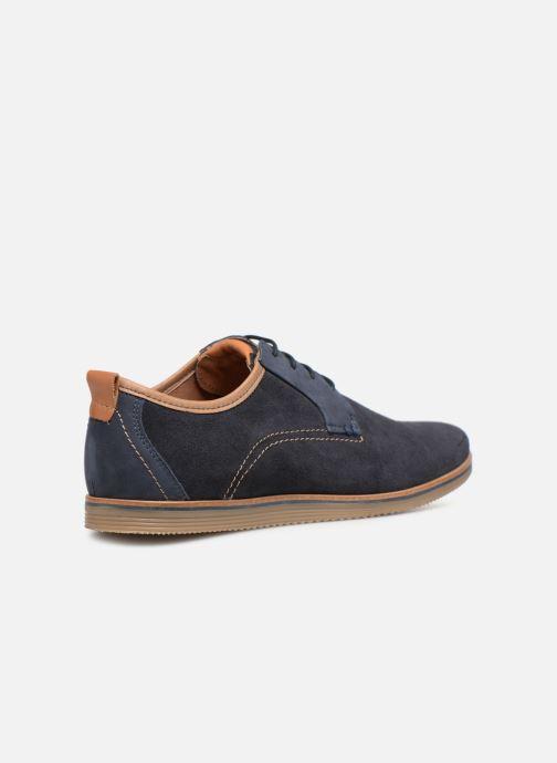 Zapatos con cordones Mr SARENZA Coxila Azul vista de frente